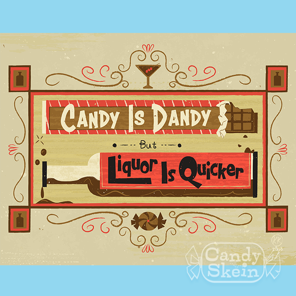 Art Print- Candy is Dandy