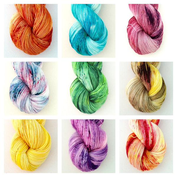 Mini Skein Collection: Fair Food