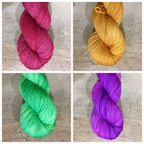 Happy Hour Collection: Set 1 (1/4 skeins)