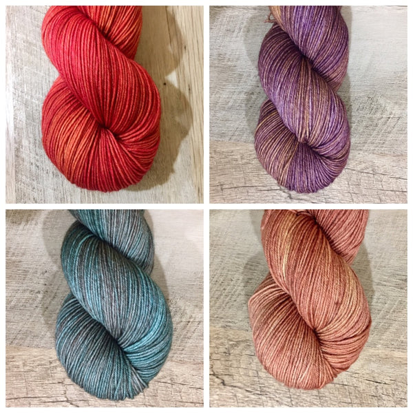 Happy Hour Collection: Set 2 (1/4 skeins)