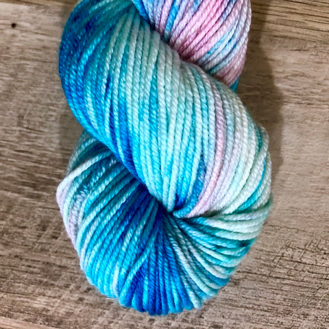 Monthly Colorway- Juicy Worsted March '19 8th Candiversary