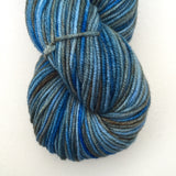 Juicy Worsted- Blueberry Cobbler