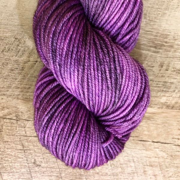 Monthly Colorway- Juicy Worsted July '18 Blackberry Jam