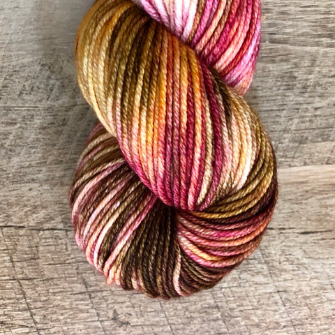 Monthly Colorway- Juicy Worsted October '18 Candy Bar