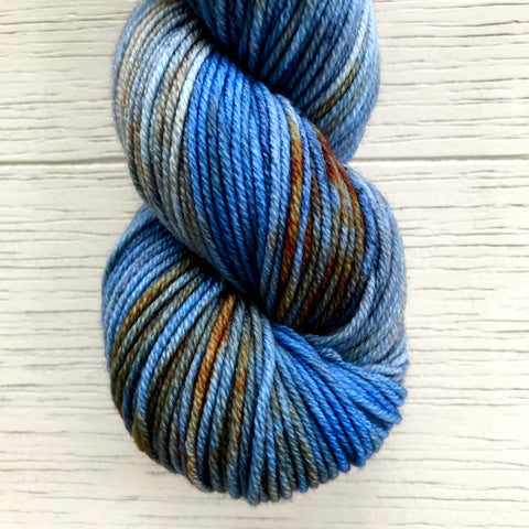 Monthly Colorway- Juicy Worsted October '20 Harvest Moon Pie