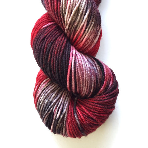 Monthly Colorway- Juicy Worsted March '17 Lush Licorice