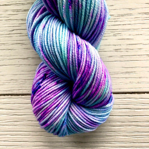 Monthly Colorway- Juicy Worsted September '20 Mermaid Macaron