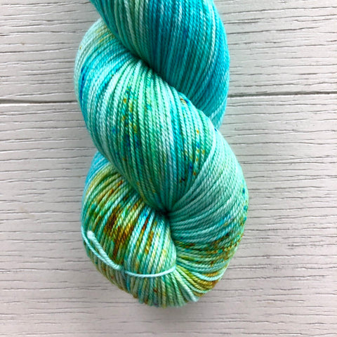 Monthly Colorway- Luscious Fingering August '20 Bayou Beignets