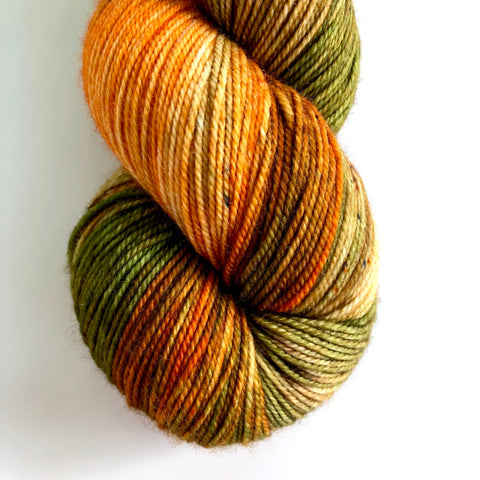 Monthly Colorway- Luscious Fingering November '19 Falling Gummy Leaves