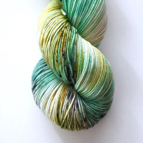 Monthly Colorway- Luscious Fingering June '17 Honeycomb Heaven