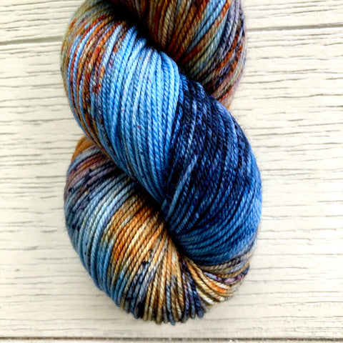 Monthly Colorway- Luscious Fingering October '20 Harvest Moon Pie