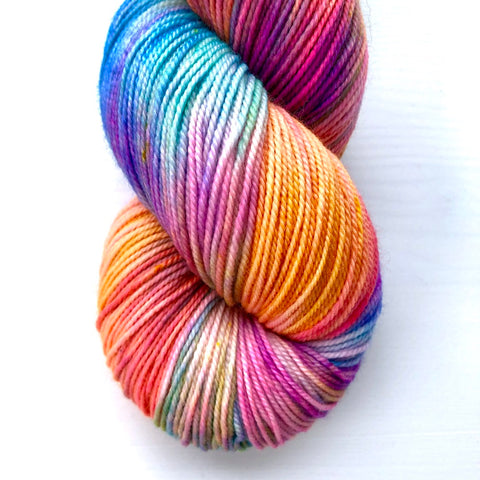 Monthly Colorway- Luscious Fingering June '19 Pride Popsicle