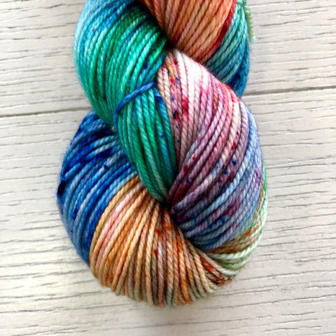 Monthly Colorway- Tasty DK December'19 Christmas Light Candy