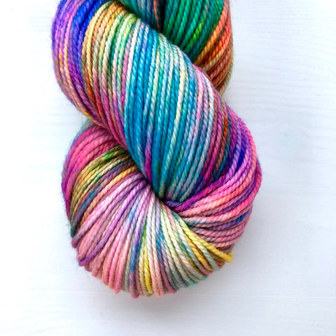 Monthly Colorway- Tasty DK June '19 Pride Popsicle