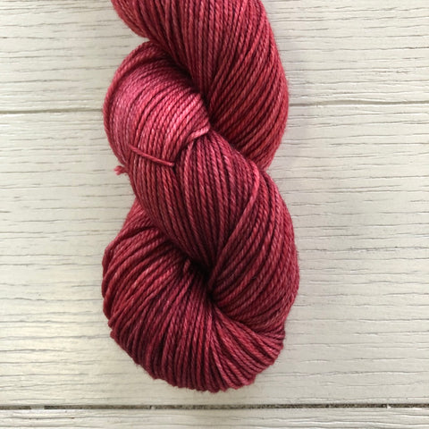 Monthly Colorway- Tasty DK February '21 Razzle Red
