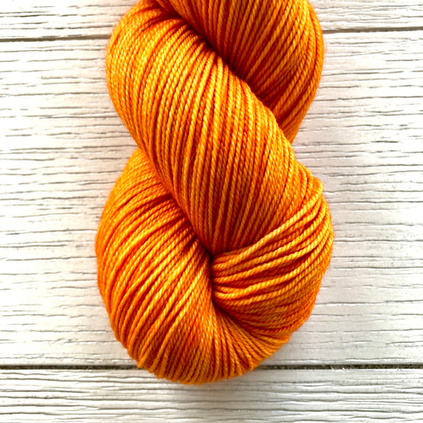 Monthly Colorway- Tasty DK April '21 Sweet Clementine