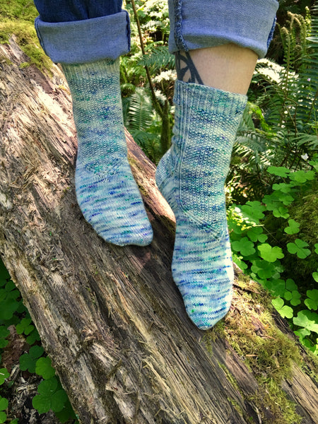 Candy Skein Designs: To the Point Socks