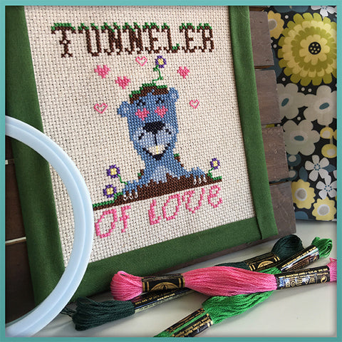 Candy Stitch Pattern- No. 9 Tunneler of Love