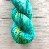 Monthly Colorway- Yummy Fingering August '20 Bayou Beignets