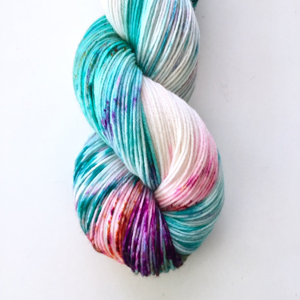 Yummy Fingering Birthday Cake Candy Skein