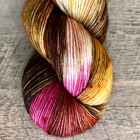 Monthly Colorway- Yummy Fingering October '18 Candy Bar