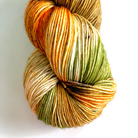 Monthly Colorway- Yummy Fingering November '19 Falling Gummy Leaves