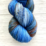 Monthly Colorway- Yummy Fingering October '20 Harvest Moon Pie