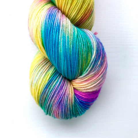 Monthly Colorway- Yummy Fingering June '19 Pride Popsicle