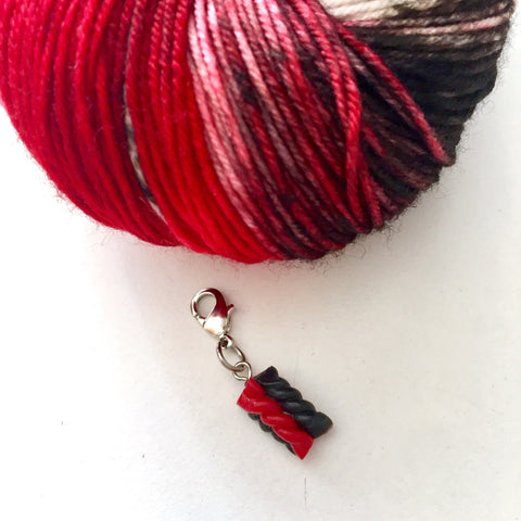 Monthly Stitch Marker- March '17 Lush Licorice