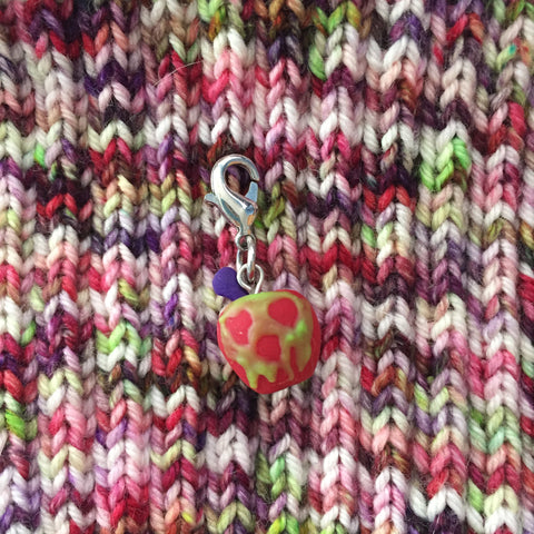 Monthly Stitch Marker- October '16 Poison Apple