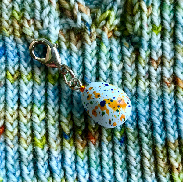 Monthly Stitch Marker- April '19 Easter Egg