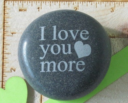 Quote- I love you more w/heart