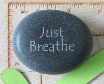 Quote- Just Breathe