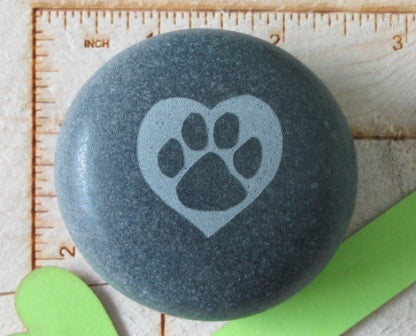 Paw in Heart- Small