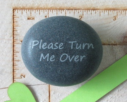 Quote- Please Turn Me Over