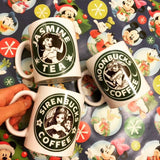 Fawnbucks Coffee Mug |  Fawn Fairy Neverbeast Starbucks |  Disney Fairies