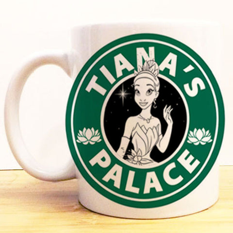 Tiana's Palace Coffee Mug |  Princess and the Frog Starbucks |  Disney Princess