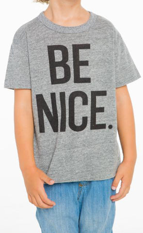Chaser Be Nice. Tee - Basically Bows & Bowties