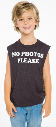 Chaser No Photos Please Tank Top - Basically Bows & Bowties