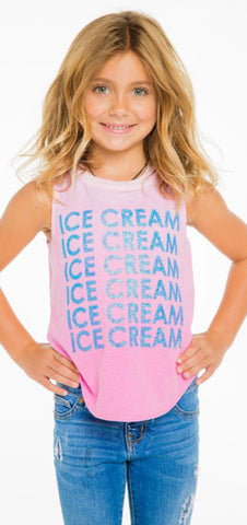 Chaser Ice Cream Tank - Basically Bows & Bowties