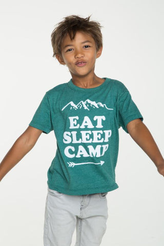 Chaser Eat Sleep Camp Tee - Basically Bows & Bowties