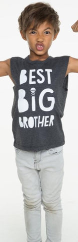 Chaser Big Brother Vintage Muscle Tank Top - Basically Bows & Bowties