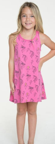 Chaser Unicorns & Ice Cream Dreamz Dress - Basically Bows & Bowties