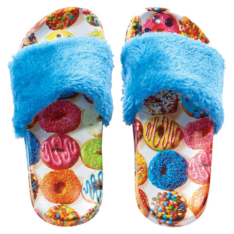 Iscream Donut Fur Slides - Basically Bows & Bowties