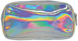 Iscream Holographic Dripping Heart Small Cosmetic Bag - Basically Bows & Bowties