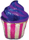 Iscream Cupcake Reversible Sequin Pillow - Basically Bows & Bowties