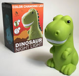 Iscream LED Color Changing Dinosaur Night Light - Basically Bows & Bowties