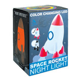 Iscream Color Changing LED Rocket Ship Night Light