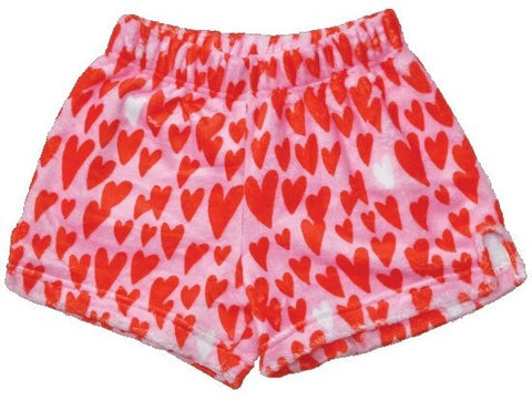 Iscream Lovin' Hearts Plush Shorts