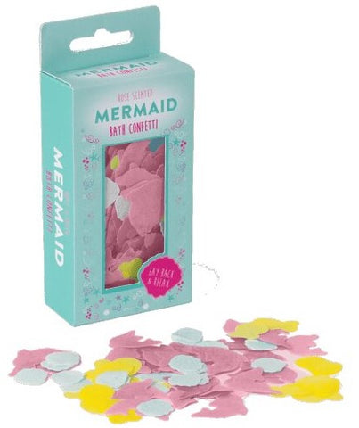 Iscream Mermaid Bath Confetti Basically Bows & Bowties